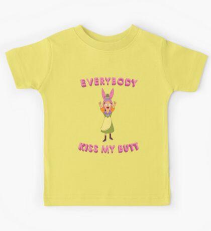 Everybody Kiss My Butt Kids Tee