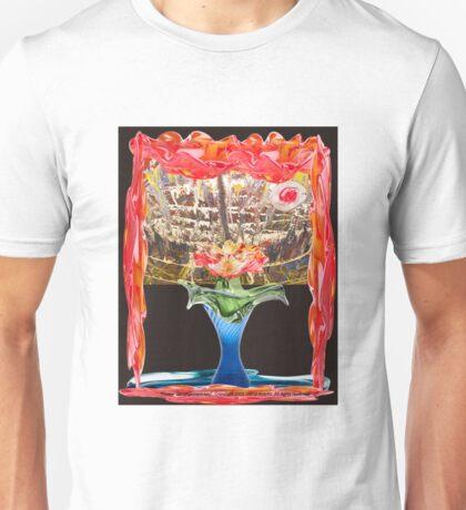 Flower Derangement By Darryl Kravitz Unisex T-Shirt