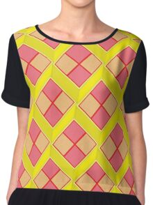 Battenburg Women's Chiffon Top