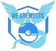 We Are MYSTIC - Pokemon GO Photographic Print