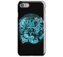 Not Afraid (cool tones) iPhone Case/Skin