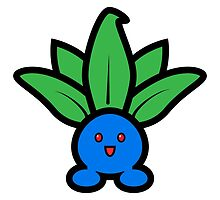 Oddish Sticker by mrbrownjeremy