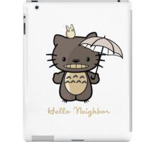 Hello Neighbor ! iPad Case/Skin