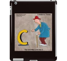 The Old Man And The C iPad Case/Skin