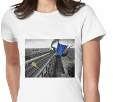 Railroad Trouble Womens Fitted T-Shirt
