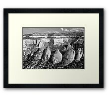 Coke Ovens Colorado National Monument BW Framed Print