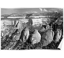 Coke Ovens Colorado National Monument BW Poster