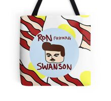 Ron F***ing Swanson Tote Bag