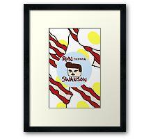 Ron F***ing Swanson Framed Print