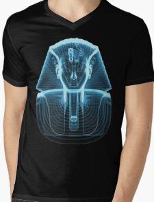 Tutankhamun 'King Tut' X-Ray Style Mens V-Neck T-Shirt