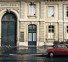 Little Red Car by Caroline Fournier