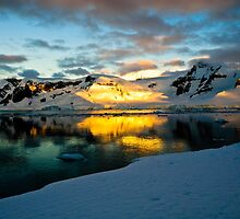 Antarctic Sunset by Jan Fijolek