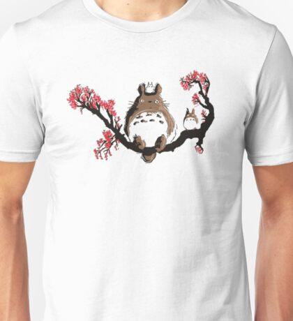<TOTORO> Totoro On Tree Unisex T-Shirt