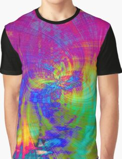 Psychedelic TieDyed Graphic T-Shirt