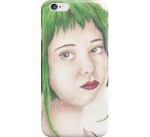 Green Haired Ramona iPhone Case/Skin
