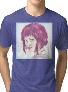 Pink Haired Ramona Tri-blend T-Shirt