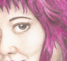 Pink Haired Ramona Sticker