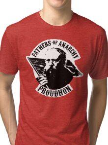 Fathers of Anarchy - Pierre-Joseph Proudhon Tri-blend T-Shirt