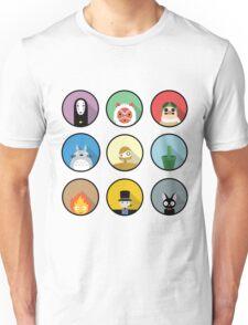 Studio Ghibli icons Unisex T-Shirt