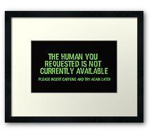 Humans Framed Print