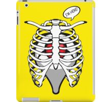 i'm here pocket ball tumor live in your body pokeball gps location iPad Case/Skin