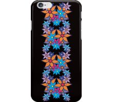Colorful Romantic Vintage Floral Pattern iPhone Case/Skin