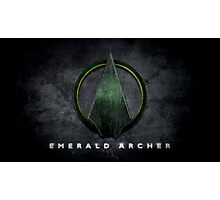Green Arrow Photographic Print