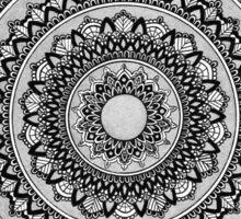 Silver Mandala Sticker