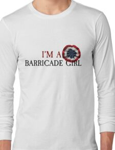 Barricade Girl Long Sleeve T-Shirt