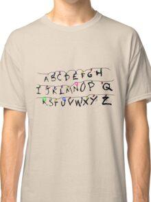 ABCDEFGHIJKLMNOPQRSTUVWXYZ Classic T-Shirt