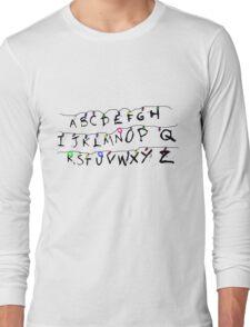 ABCDEFGHIJKLMNOPQRSTUVWXYZ Long Sleeve T-Shirt