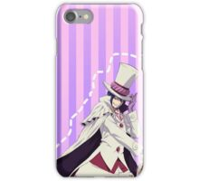 candy stripe mephistopheles case iPhone Case/Skin
