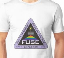 The Far Ultraviolet Spectroscopic Explorer (FUSE) Logo Unisex T-Shirt