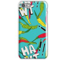 Hawt Chillies iPhone Case/Skin