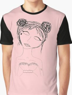 Lil face tat space buns  Graphic T-Shirt