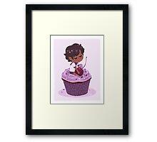 Phern Cake Framed Print