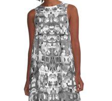 07Black A-Line Dress