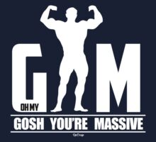 GYM Gosh Your Massive by RooDesign
