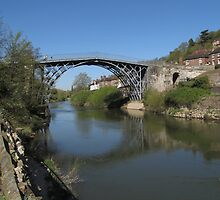 The Ironbridge Shropshire view 6 by Lawson Clout