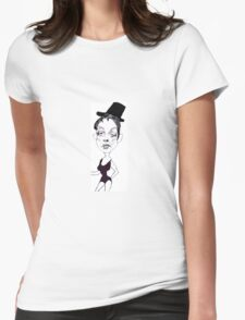Judy Garland Womens Fitted T-Shirt