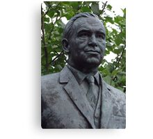Sir Alf Ramsey - The Pride of England Canvas Print