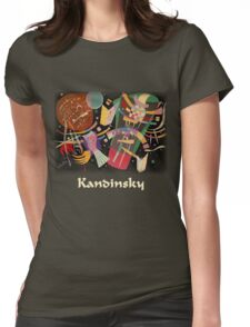 Kandinsky - Composition No. 10 Womens Fitted T-Shirt