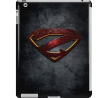 """The Letter Z in the Style of """"Man of Steel"""" iPad Case/Skin"""