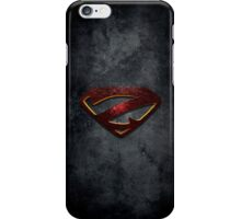 """The Letter Z in the Style of """"Man of Steel"""" iPhone Case/Skin"""