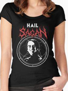 HAIL SAGAN Women's Fitted Scoop T-Shirt
