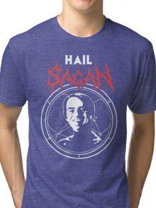 HAIL SAGAN Tri-blend T-Shirt