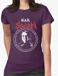 HAIL SAGAN Womens Fitted T-Shirt