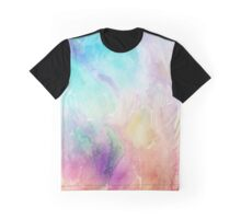 Colorful pastel tones watercolors abstract background Graphic T-Shirt