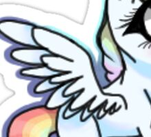 Chibi Unicorn Sticker Sticker