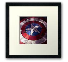 Shield Captain Framed Print